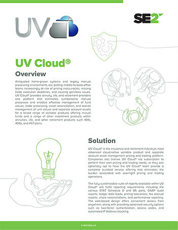 UV Cloud® Solution Brief Preview Image